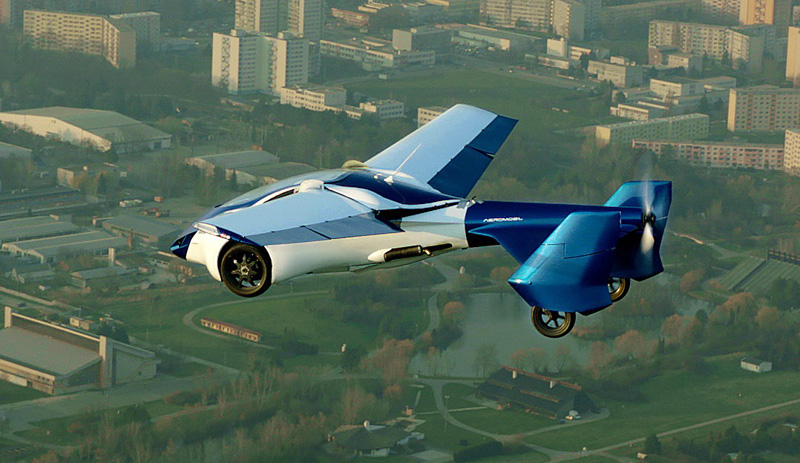 aeromobil-flying