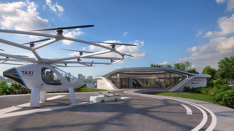 Volocopter mobil légitaxi